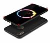 Eiroo Body Thin iPhone X 360 Derece Koruma Siyah Rubber Kılıf - Resim 3
