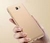 Eiroo Body Thin Samsung Galaxy J7 Prime 360 Derece Koruma Gold Rubber Kılıf - Resim 4