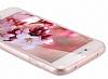 Eiroo Body Thin Samsung Galaxy S6 Edge 360 Derece Koruma Kırmızı Rubber Kılıf - Resim 1