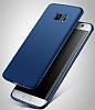Eiroo Body Thin Samsung Galaxy S6 Edge 360 Derece Koruma Kırmızı Rubber Kılıf - Resim 3