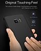 Eiroo Body Thin Samsung Galaxy S7 Edge 360 Derece Koruma Siyah Rubber Kılıf - Resim 4