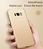 Eiroo Body Thin Samsung Galaxy S8 360 Derece Koruma Kırmızı Rubber Kılıf - Resim 4