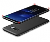 Eiroo Body Thin Samsung Galaxy S8 Plus 360 Derece Koruma Kırmızı Rubber Kılıf - Resim 3