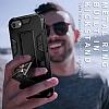 Eiroo Built iPhone SE 2020 Ultra Koruma Rose Gold Kılıf - Resim 8