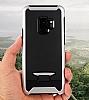 Eiroo Bumblebe Samsung Galaxy S9 Plus Ultra Koruma Kırmızı Kılıf - Resim 3