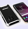 Eiroo Bumblebe Samsung Galaxy S9 Plus Ultra Koruma Kırmızı Kılıf - Resim 4