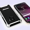 Eiroo Bumblebe Samsung Galaxy S9 Ultra Koruma Lacivert Kılıf - Resim 4