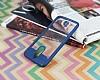Eiroo Cam Hybrid Huawei Mate 10 Lite Kamera Korumalı Lacivert Kenarlı Rubber Kılıf - Resim 4