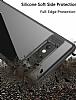 Eiroo Cam Hybrid Huawei Mate 10 Lite Kamera Korumalı Kırmızı Kenarlı Rubber Kılıf - Resim 2