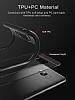 Eiroo Cam Hybrid Huawei Mate 10 Lite Kamera Korumalı Kırmızı Kenarlı Rubber Kılıf - Resim 3