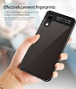 Eiroo Cam Hybrid Huawei P20 Kamera Korumalı Siyah Kenarlı Rubber Kılıf - Resim 7