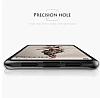 Eiroo Cam Hybrid Huawei P20 Kamera Korumalı Siyah Kenarlı Rubber Kılıf - Resim 9