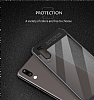 Eiroo Cam Hybrid Huawei P20 Pro Kamera Korumalı Siyah Kenarlı Rubber Kılıf - Resim 5
