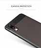 Eiroo Cam Hybrid Huawei P20 Pro Kamera Korumalı Siyah Kenarlı Rubber Kılıf - Resim 3