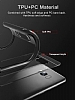 Eiroo Cam Hybrid Samsung Grand Prime Pro J250F Kamera Korumalı Siyah Kenarlı Rubber Kılıf - Resim 2