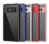 Eiroo Cam Hybrid Samsung Galaxy Note 8 Kamera Korumalı Siyah Kenarlı Rubber Kılıf - Resim 10