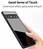Eiroo Cam Hybrid Samsung Galaxy Note 8 Kamera Korumalı Siyah Kenarlı Rubber Kılıf - Resim 5