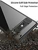 Eiroo Cam Hybrid Samsung Galaxy Note 8 Kamera Korumalı Siyah Kenarlı Rubber Kılıf - Resim 4