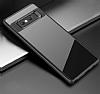 Eiroo Cam Hybrid Samsung Galaxy Note 8 Kamera Korumalı Siyah Kenarlı Rubber Kılıf - Resim 1