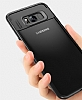 Eiroo Cam Hybrid Samsung Galaxy S8 Kamera Korumalı Lacivert Kenarlı Rubber Kılıf - Resim 1