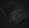 Eiroo Cam Hybrid Samsung Galaxy S8 Kamera Korumalı Lacivert Kenarlı Rubber Kılıf - Resim 3
