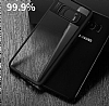 Eiroo Cam Hybrid Samsung Galaxy S8 Kamera Korumalı Lacivert Kenarlı Rubber Kılıf - Resim 4