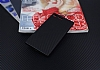 Eiroo Carbon Hybrid Sony Xperia XZ Premium Siyah Kenarlı Karbon Siyah Silikon Kılıf - Resim 2