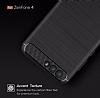 Eiroo Carbon Shield Asus ZenFone 4 ZE554KL Ultra Koruma Siyah Kılıf - Resim 3