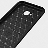 Eiroo Carbon Shield Asus ZenFone 4 Selfie ZD553KL Ultra Koruma Lacivert Kılıf - Resim 4