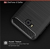 Eiroo Carbon Shield Asus ZenFone 4 Selfie ZD553KL Ultra Koruma Lacivert Kılıf - Resim 6