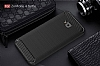 Eiroo Carbon Shield Asus ZenFone 4 Selfie ZD553KL Ultra Koruma Siyah Kılıf - Resim 1