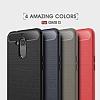 Eiroo Carbon Shield General Mobile GM 8 Ultra Koruma Siyah Kılıf - Resim 7