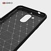 Eiroo Carbon Shield General Mobile GM 8 Ultra Koruma Siyah Kılıf - Resim 2