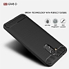 Eiroo Carbon Shield General Mobile GM 8 Ultra Koruma Siyah Kılıf - Resim 6