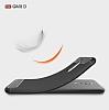 Eiroo Carbon Shield General Mobile GM 8 Ultra Koruma Siyah Kılıf - Resim 1