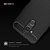 Eiroo Carbon Shield General Mobile GM 8 Ultra Koruma Siyah Kılıf - Resim 8