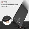 Eiroo Carbon Shield General Mobile GM 8 Ultra Koruma Siyah Kılıf - Resim 4
