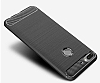 Eiroo Carbon Shield HTC Desire 12 Plus Ultra Koruma Dark Silver Kılıf - Resim 3