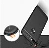 Eiroo Carbon Shield HTC Desire 12 Plus Ultra Koruma Dark Silver Kılıf - Resim 6