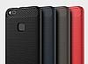 Eiroo Carbon Shield Huawei P10 Lite Ultra Koruma Dark Silver Kılıf - Resim 6