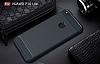 Eiroo Carbon Shield Huawei P10 Lite Ultra Koruma Lacivert Kılıf - Resim 7