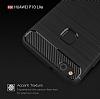 Eiroo Carbon Shield Huawei P10 Lite Ultra Koruma Siyah Kılıf - Resim 2