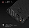 Eiroo Carbon Shield Huawei P10 Lite Ultra Koruma Dark Silver Kılıf - Resim 2