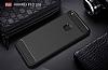 Eiroo Carbon Shield Huawei P10 Lite Ultra Koruma Siyah Kılıf - Resim 7