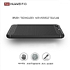 Eiroo Carbon Shield Huawei P10 Ultra Koruma Dark Silver Kılıf - Resim 3
