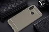 Eiroo Carbon Shield Huawei P20 Lite Ultra Koruma Dark Silver Kılıf - Resim 6