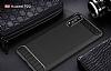 Eiroo Carbon Shield Huawei P20 Pro Ultra Koruma Siyah Kılıf - Resim 1