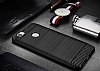 Eiroo Carbon Shield Huawei Nova Ultra Koruma Siyah Kılıf - Resim 1