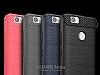 Eiroo Carbon Shield Huawei Nova Ultra Koruma Siyah Kılıf - Resim 6
