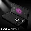 Eiroo Carbon Shield iPhone 6 / 6S Ultra Koruma Siyah Kılıf - Resim 5